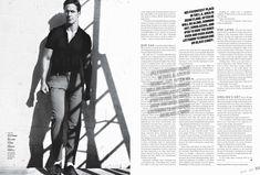 design editorial, diagramação, layout, magazine, pages, spreads, mag, revista, jornal, GQmagazine