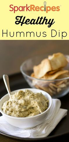 Coach Nicole's Yummy Hummus~Use as a dip for veggies or a spread on pita and sandwiches.  via @SparkPeople