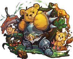 Honey Bear - Monster Warlord Wiki