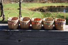 Mini Market Baskets - pattern by Rita Laferriere