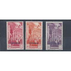 1932 CIRENAICA PA DI TRIPOLITANIA SOPRASTAMPA 3 VAL MNH MF14313