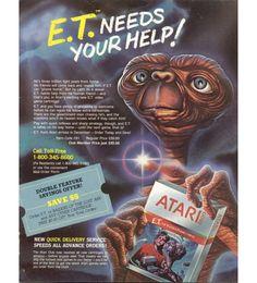 AD Game Retro - E.T.