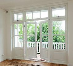 Openslaande tuindeuren met bovenlicht - Tuindeuren.com