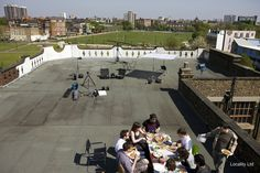 Location 2345 - Photographic Studio, Roof terrace, Roof, View - urban