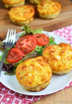 This recipe is gluten free, Slimming World and Weight Watchers friendly Slimming Eats Recipe Extra Easy –1 HEa per serving (2 mini quiches) 5.0 from 1 reviews Tuna and Sweetcorn Mini Quiches   Print Serves 3