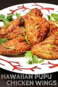 Hawaiian Pupu Chicken Wings is listed (or ranked) 8 on the list Finger-Lickin' Chicken Wing Recipes