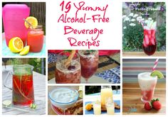 19 Yummy Alcohol-Free Beverage Recipes - Frugal Mom Eh!