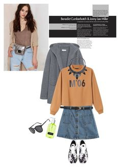 """""""Untitled #1750"""" by ivonce ❤ liked on Polyvore featuring Nila Anthony, Chinti and Parker, Chicnova Fashion, Monki and NIKE"""