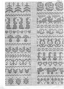 65 ideas for knitting charts border fair isles Fair Isle Knitting Patterns, Fair Isle Pattern, Knitting Charts, Knitting Stitches, Sock Knitting, Vintage Knitting, Free Knitting, Jaquard Tricot, Cross Stitch Borders