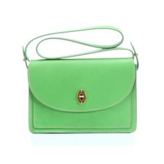 Maple and West Fossil Austin Convertible Clutch - Bright Green
