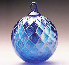 Glass Eye Studio glass ornaments come in a variety of colors & finishes, each handcrafted by artists in our Seattle studio. Christmas Ornaments To Make, Christmas Bulbs, Xmas, Glass Floats, Artist Card, Blown Glass Art, Purple Christmas, Glass Ornaments, Studios