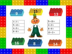 15 16 14 8 9 13 Math Worksheets, 7 And 7, Lego, Comics, Legos, Comic Book, Cartoons, Comic Books, Graphic Novels