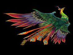 Fantasy Peacock 3D model