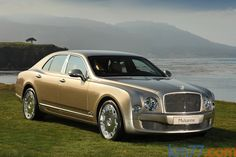 Bentley Mulsanne Gama Mulsanne Gama Mulsanne Turismo Exterior Frontal-Lateral 4 puertas