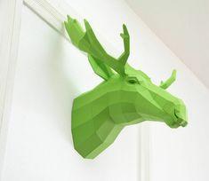 Geometrische Tierfiguren aus Papier von Wolfram Kampffmeyer