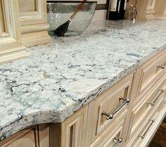 Kitchen Countertops - cambria praa sands island top