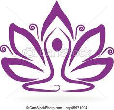 Yoga Tattoos, New Tattoos, Tatoos, Peace Sign Drawing, Yoga Symbols, Future Tattoos, Amazing Nature, Rock Art, Lotus