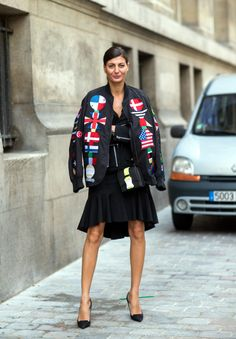 The 12 Most-Photographed Italian Street-Style Stars | StyleCaster