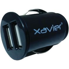 Xavier 2-port Usb Car Charger Black  #watches #women #sale #toys #men #fashions #suits #high #computers #summer