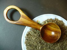 Wooden measuring spoon 1 tablespoon wooden measuring by Kanalka