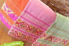 ScrapBusters: Moroccan Style Deco Stitch Tea Towels