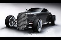 lugnegard studio's new gentleman's racer concept car for audi (classic hot rod look with a dash of smooth luxury) Hot Rods, Classic Hot Rod, Classic Cars, Auto Retro, Car Car, Custom Cars, Concept Cars, Motor Car, Cars And Motorcycles