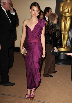 Pin for Later: Over 60 of Natalie Portman's Best Red Carpet Looks Ever Natalie Portman in Lanvin at the 2011 AMPAS Governors Awards In a gorgeously draped Lanvin gown at the AMPAS 2nd Annual Governors Awards in 2011.
