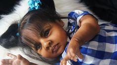 "Amazing Rowan by Jessica Schenk is now AA/Bi-racial Toddler ""Aisha"""