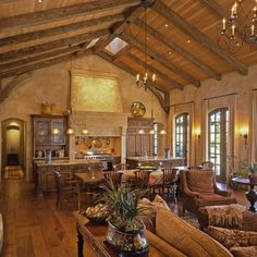 Tuscan Style Living Rooms - Bing Images