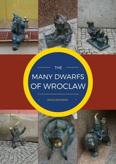 Finding the Many Dwarfs of Wrocław in Poland. Travel in Europe.