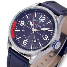 Leather Strap Business Wristwatches