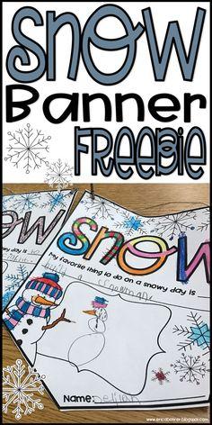 Free Snow Banner Pri