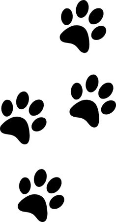 animal footprint clip art cute things pinterest footprints rh pinterest com