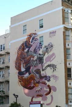 San Francisco, California (Artist: Nychos) | 14 Everyday Places Completely Transformed By Art