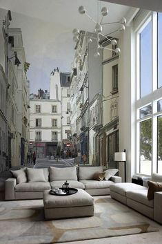 15 Refreshing Wall Mural Ideas For Your Living Room | Refreshing ...