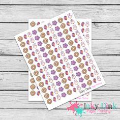 New to InkyDinkPrinting on Etsy: 132 Fall Purple Owl Bird Flower Full Sheet Planner Stickers Erin Condren Happy Planner Plum Planner Sticker Sampler EC Life Planner FS-46 (5.00 USD)