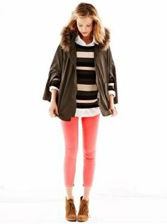 Women's Clothing: Women's Clothing: We ? Outfits | Gap (parka + brights)