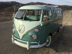 1967 VW 21 Window Deluxe Microbus For Sale @ Oldbug.com