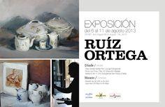 INAUGURACION DE LA EXPOSICION DE MANUEL RUIZ ORTEGA / Inauguration of Manuel Ortegas Exhibition http://santamariapoloclub.com/es/actualidad/social/575-expo-ruizortega #SotograndeLifestyle