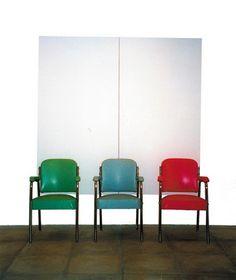 Furniture sculpture, 1994 - John Armleder
