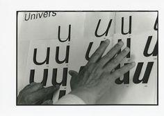 Frutiger Univers-Schema