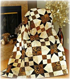 #434 Simply Elegant Quilt Pattern -  Paper Pattern