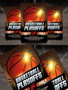 Basketball Playoffs Flyer