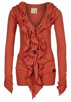 Adorable color ladies long sweater fashion ever and ever love the front look