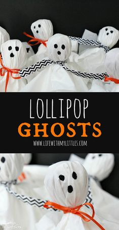 DIY: LOLLIPOP GHOSTS (BLOG FULL STEP BY STEP TUTORIAL WITH PHOTOS)