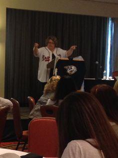 2014 CLI San Antonio President Paula Barnes kicks off the closing session at CLI! #CLI2014