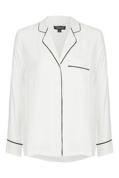 The high street is hitting us with some stellar offerings this week. Cooler weather's now approaching which means goodbye summer dresses and hello slouchy cashmere, structured blazers, lace tops and ultra-glam accessories. Womens Fashion For Work, Work Fashion, Female Fashion, Topshop Pyjamas, Sequin Blazer, Pajama Shirt, Lace Tops, Polyvore Outfits, What To Wear