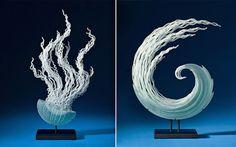 Flowing Glass Sculptures – Fubiz™