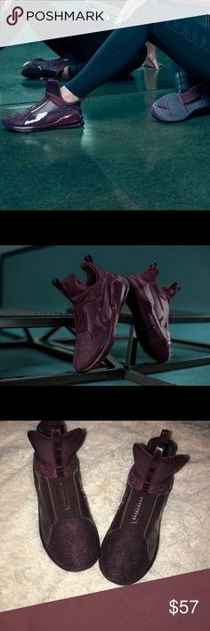 "Kylie Jenner ""Fierce"" Puma Sneakers Women training sneakers. Worn 2x. Very good condition. Purple wit beaded design Puma Shoes Sneakers"