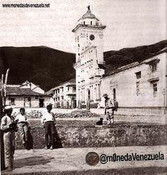 Plaza Bolívar de Caracas. Año 1866. Todavia no se habia colocado la estatua ecuestre del Libertador